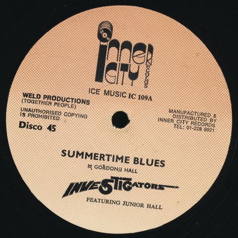 Investigators_summertime_blues